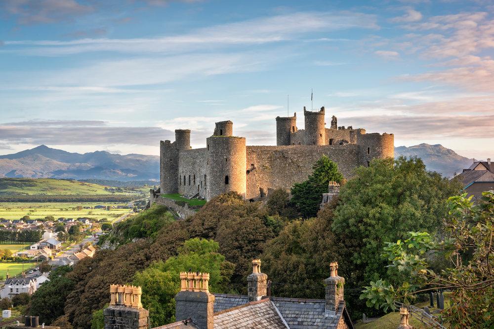 Harlech Castle Snowdonia