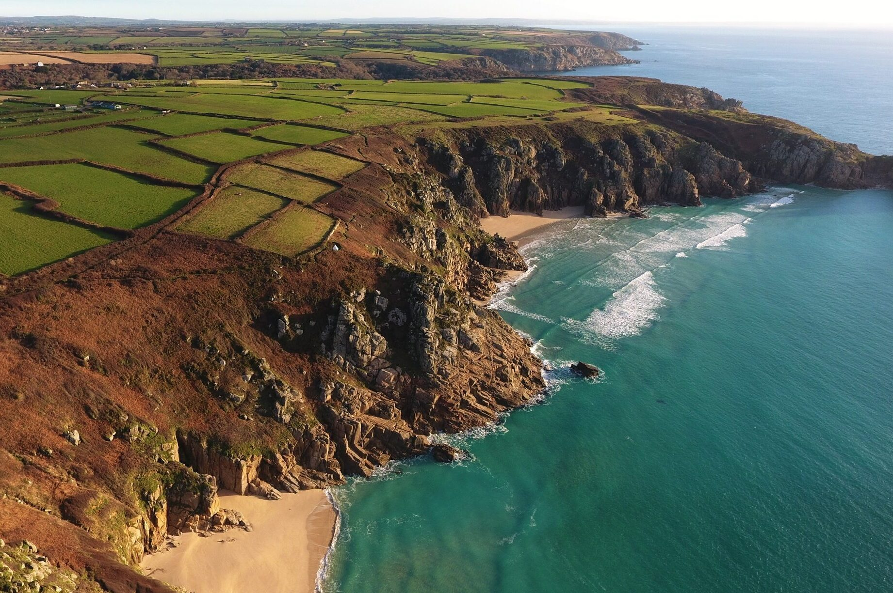 Rugged Coastline Cornwall