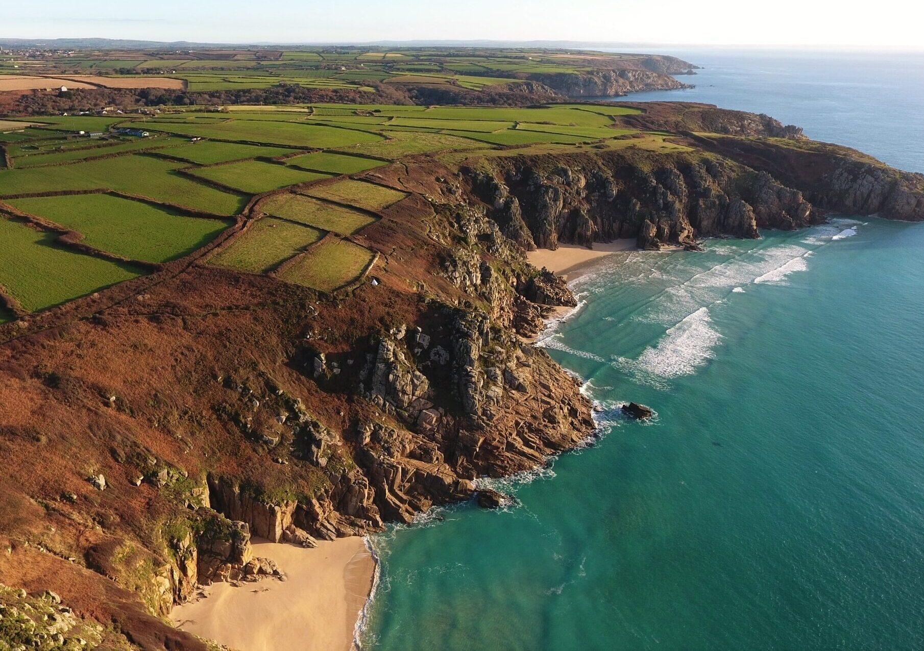 Cliffs and Beaches Cornwall