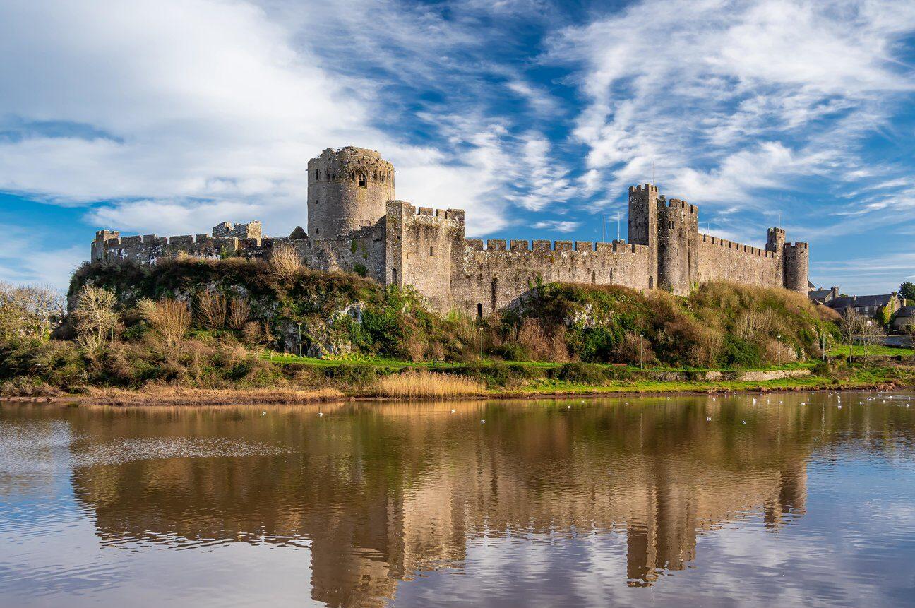 Wales Castle Pembroke