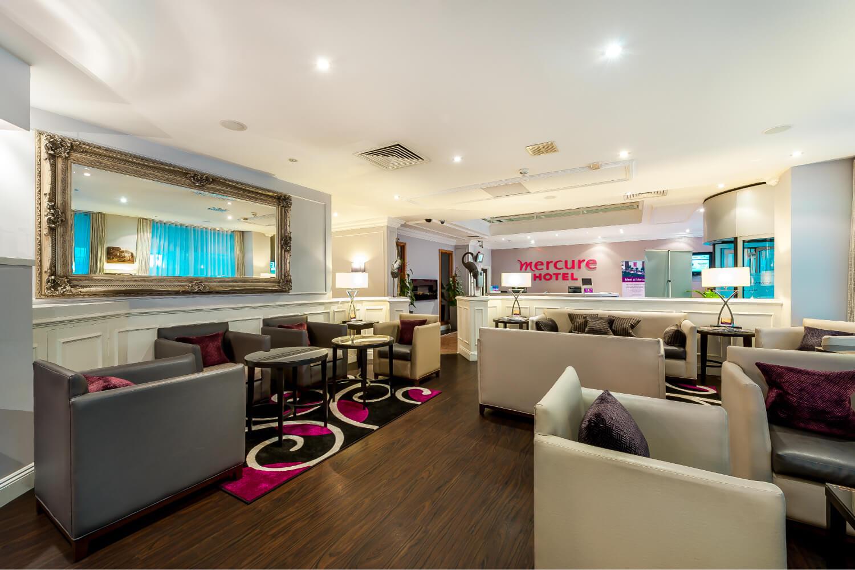 Mercure Kensington Hotel Lobby