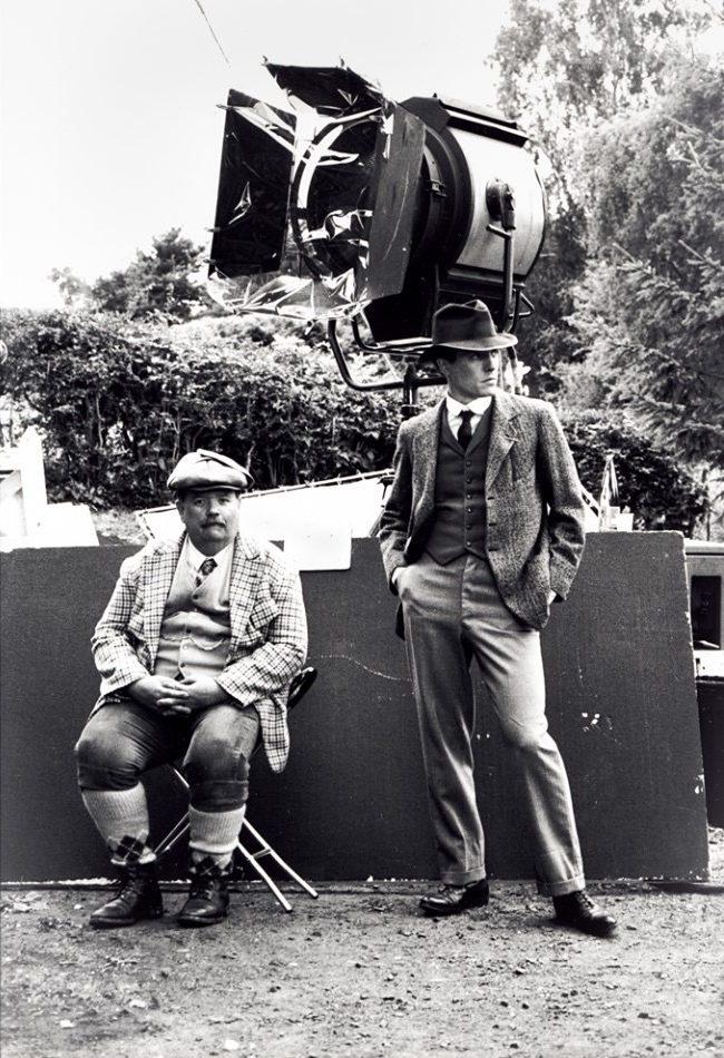 Ian McNeice & Hugh Grant